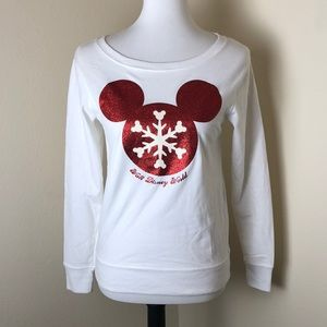 Walt Disney World Disney Park Christmas Sweatshirt
